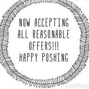 REASONABLE OFFERS ACCEPTING
